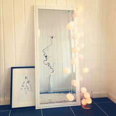 Hallway, happy lights