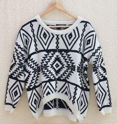 Suéter étnico