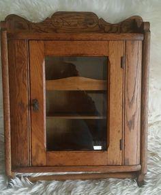 Old Medicine Cabinets   Antique Vintage Victorian Walnut Eastlake ...