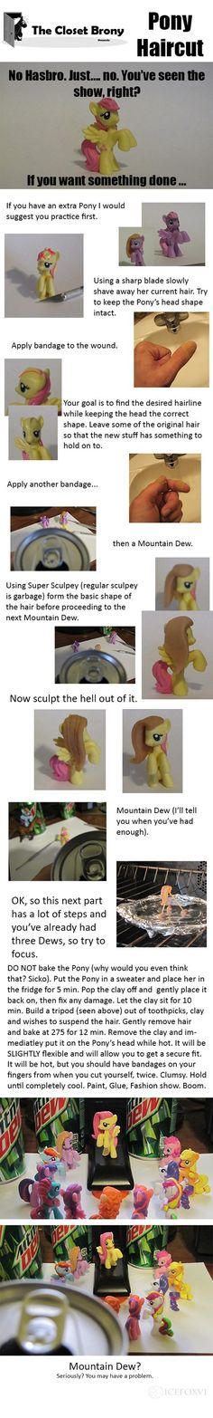 Hasbro Gives Me a Headache. Alternatively you can boil polymer to set it and if done right it doesn't harm the figure.