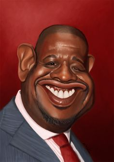 Forest Whitaker #caricatura