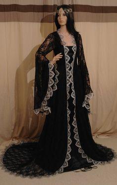 Renaissance mittelalterlichen Fantasy victorian Vintage Handfasting Hochzeitskleid ,