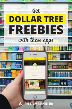 Grabbing Dollar Tree freebies with rebate apps is our of my favorite dollar store shopping tips. Plus, you can combine these rebates with manufacturer coupons for rebate app moneymakers! What couponer doesn't love a little free cash? Here are all the apps you can use to grab free things and get money for shopping at Dollar Tree. The Krazy Coupon Lady even has a Dollar Tree deals page so you never miss a freebie. Rebate Apps, Manufacturer Coupons, Coupon Lady, Get Free Stuff, Free Cash, Shopping Tips, Coupon Deals, Free Things, How To Get Money