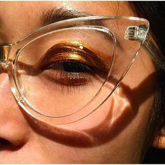Killer cat eye glasses
