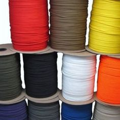 550 Paracord Parachute Cord Mil Spec Type III 7 Strand 10ft 20ft 50ft 100ft