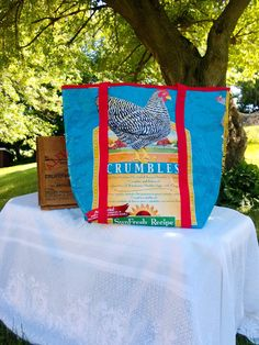 durable canvas tote/ Market bag/ farmers market by CrookedCoopFarm, $35.00
