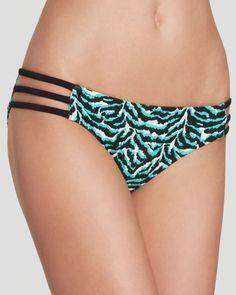 Milly Tiger Print Lanai Hipster Bikini Bottom