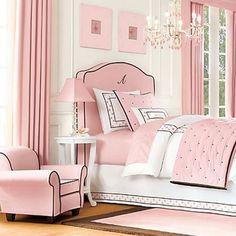 Genç kız odaları için ilham veren tasarımlar   elitstil.com