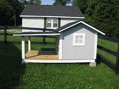 Unique Dog Houses | Woodworking Blog from Gathering Wood » Custom Doghouse with Kentucky ...
