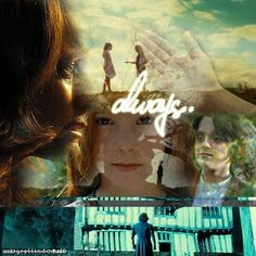 Always Snape and Lily Harry Potter Hermione Granger, Harry Potter Style, Harry Potter Books, Harry Potter Fan Art, Snape And Lily, Lily Potter, Slytherin And Hufflepuff, Hogwarts, After All This Time