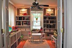 Image result for playroom shelves