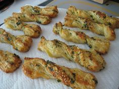 Make and share this Herb Twists recipe from Food.com.