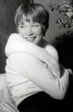 Shirley MacLaine. She reminds me of my grandma, whos bubbly personality has shrunk because of alzheimar disease. But when i watch her movies i can see my granny again :)