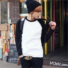Buy 'ABOKI – Raglan Long-Sleeved T-Shirt' with Free International Shipping at YesStyle.com. Browse and shop for thousands of Asian fashion items from South Korea and more!