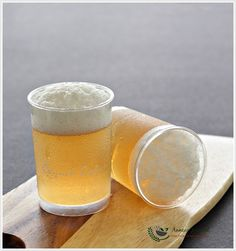 Beer Like Apple Juice Jelly 苹果泡沫果冻 | Anncoo Journal - Come for Quick and Easy Recipes