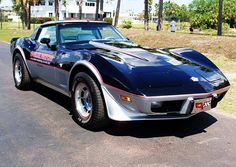 1978 Corvette Indy Pace Car / Got pulled over doing 110 on Interstate 25 at 4am. Not sure the officers (two of them, hands on sidearms, flashlights drawn and focusing on your humble narrator) would have been understanding about the delicate 17 year old with me...