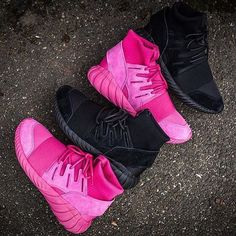 """The adidas Tubular Doom """"Black"""" and """"Pink"""" Available With Free Shipping!"""