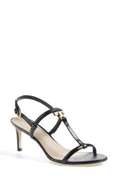 Tory Burch 'T Logo' Leather Sandal (Women) | Nordstrom