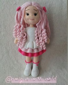 Amigurumi Baby And AnimalAre you curious about free crochet cabbage patch doll clothes patterns crochetdollsfreepattern crochet Crochet Doll Tutorial, Crochet Doll Pattern, Amigurumi Tutorial, Crochet Motifs, Crochet Amigurumi Free Patterns, Knitted Dolls, Crochet Dolls, Crochet Mignon, Crochet Basics
