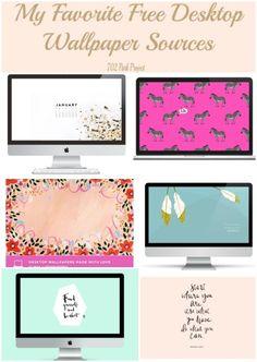 My Favorite Free Desktop Wallpaper Sources
