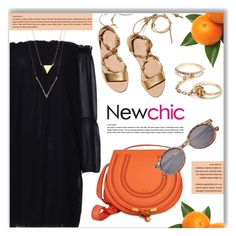 """""""NEWCHIC.com"""" by monmondefou ❤ liked on Polyvore featuring Loeffler Randall"""