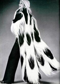Ungaro fur coat 1970s