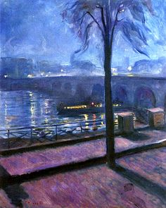 Night in Saint-Cloud, Edvard Munch, 1890