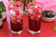 #redcarpet #cocktail 1.5 oz el Jimador tequila - .75 oz @ChambordUS  - .5 oz pomegranate juice - Squeeze of lime #redcarpetcocktail #becausenoreason