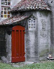 Magic Red Door by John Suler on Flickr. #myobsessionwithreddoors