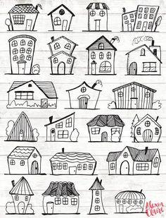 Doodle Haus Clipart Haus Vektor Kunst Haus Haus Stadt Stadt Haus PNG Dwelling Vector Obtain Haus Illustrationen 101 Doodle Drawings, Easy Drawings, Haus Vektor, House Illustration, Vintage Illustration, Character Illustration, Digital Illustration, Koala Illustration, Building Illustration