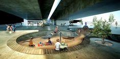 Galeria de Vencedor do concurso para requalificação de baixios de viadutos em Belo Horizonte – Viaduto #3 - Viaduto Cinquenta e Dois / ENTRE Arquitetos - 2