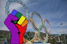 Sotchi 2014 - Winter of hate! #gayrussia #queerpower #fuckputin