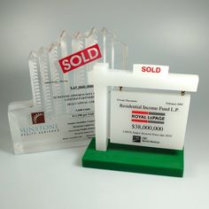 In the real estate industry, SOLD is a cherished word. Celebrate this victorious event with a beautiful custom Lucite award. World Market, Victorious, The Unit, Real Estate, Lettering, Words, Instagram Posts, Beautiful, Real Estates