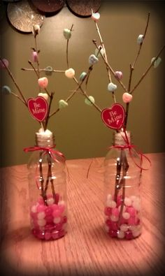 Valentine's Day Centerpieces for Class Party