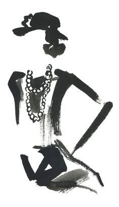 Coco Chanel by Miyuki Ohashi for @buddyeditions