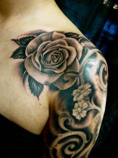 Rose tattoo, ink. inked, women with ink