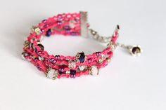 Boho fashion bracelet Rustic fashion bracelet gipsy by byHamelin, $25.00