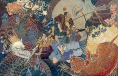 The Five Princes. Illustrator:  Yohey Horishita