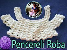 Crochet Diagram, Crochet Motif, Crochet Stitches, Embroidery Patterns, Knitting Patterns, Crochet Patterns, Crochet For Kids, Crochet Baby, Robe Diy
