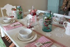 Christmas Table Docorations