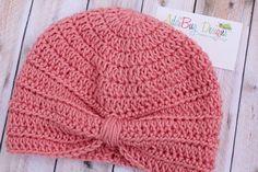 Turbante de bebé, niño pequeño turbante, turbante para adultos - Crochet el sombrero - muchos colores disponibles!