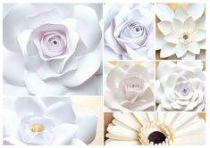 Papier-Blumen zum Träumen. Best ever Deko für Hochzeit. Ebay, Paper, Postage Stamps, Flowers