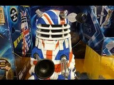 Doctor who  50th anniversary Dalek toy review