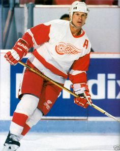 Hall of Famer Mark Howe finished his career in Detroit. He played 5 years in WHA, 16 in NHL with HART, PHL & DET. Mark was a pro-scout with the Wings' organization when Red Wings won the Cup in 1997, 1998, 2002 & 2008.