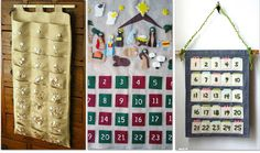 Fabric Count Down Calendars - links to 34 Advent Calendar Tutorials - some very nifty ideas.