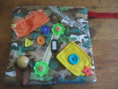Sold - Small Fidget Quilt / Sensory Blanket - made by The Fairy Felt Mother  - Etsy