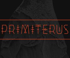 Primiterus is a free uppercase font made for your wild, free and raw headlines. Unleash your savage nature and get back to the roots De. Typeface Font, Typography, Free Fonts For Designers, Best Free Fonts, Web Design, Graphic Design, Font Styles, Cool Fonts, Savage