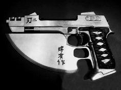 """Reinhardt's sidearm from """"Blade II"""" (edit)"""