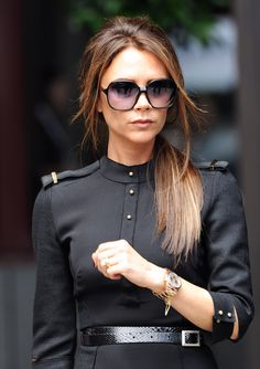 Victoria Beckham...my other style icon. If I could afford her clothing line, I'd own it all.