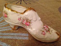Porcelain rose shoe, Nov. 2014, Ebay